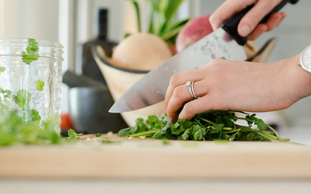 Cooking as Self-Care (with Trapanese Sauce)